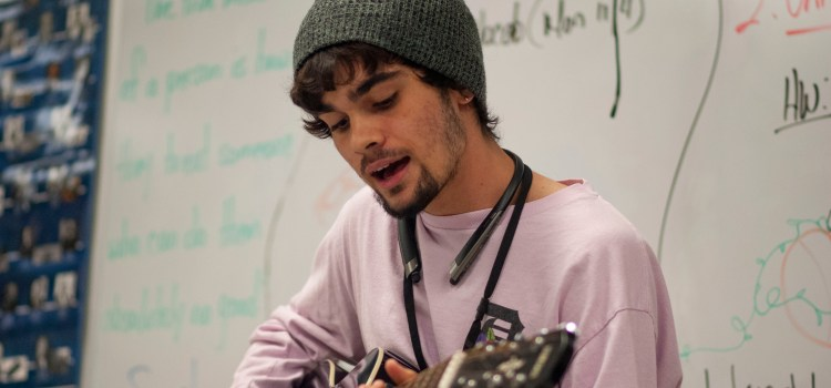 Poetry Club open mic continues after initial event was canceled