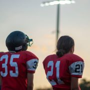 Kicking her way onto the team: Sofía Molina makes CCHS history as the first female football player