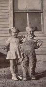 Thel Arthur and his niece Joanne