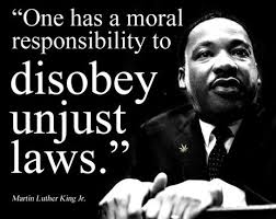 King unjust laws