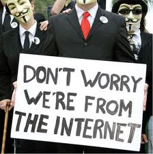 were from the internet