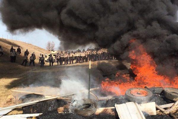 Image result for militarized police dapl