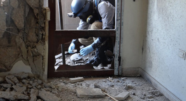 OPCW Chemical Inspection Team Reaches Douma After Issuing Statement Negating