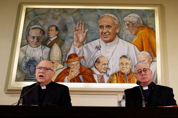 34 Chilean Bishops From The Catholic Church Implicated In The Sexual Abuse Of Young Boys