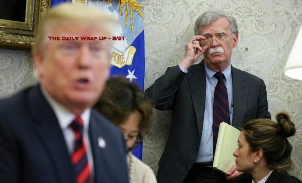 Trump Contradicts Bolton On Iran, Says MIC Pressuring War & Saudis Accuse Houthis Of Mecca Attack