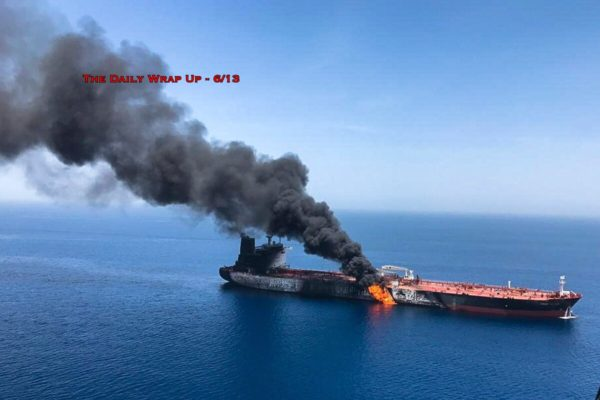 Possible Iran False Flag In Gulf Of Oman, With The US Already Caught In A Lie & Israel Attacks Syria