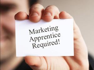 marketing apprentice