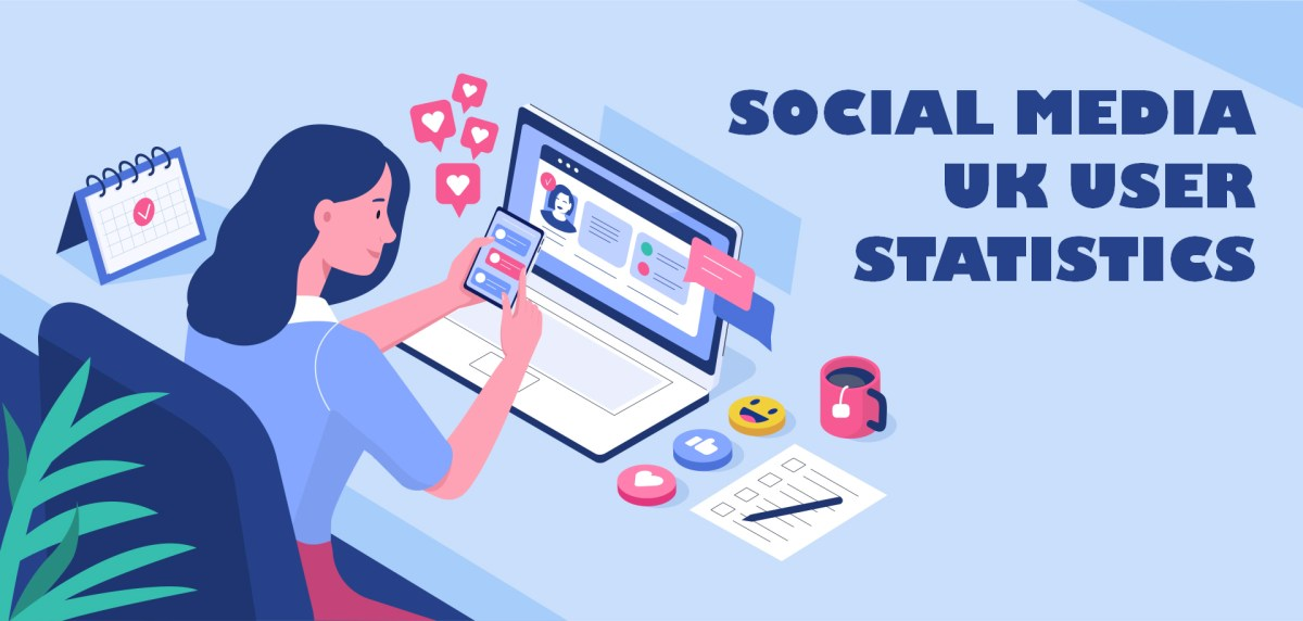 Social Media UK User Statistics for 2020