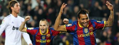 Jeffrén Suárez Clásico 5-0 Barcelona Real Madrid