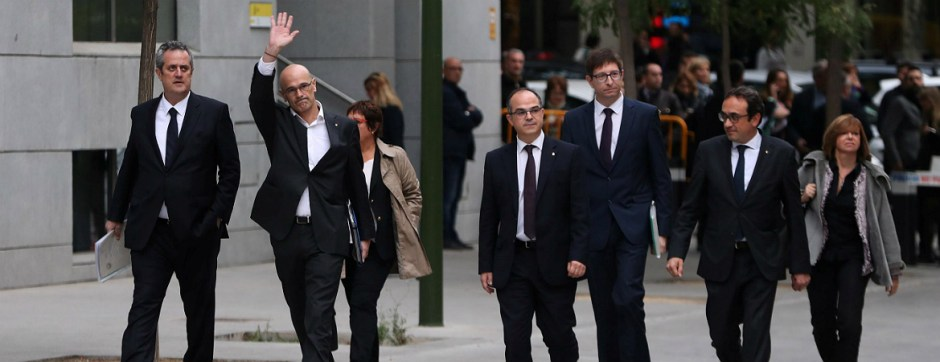 members of former catalana government