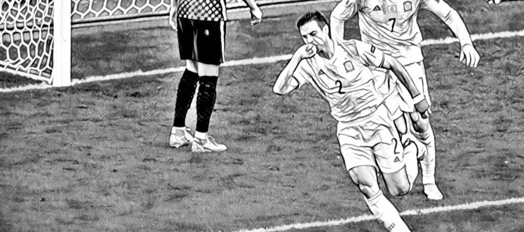 Azpilicueta Spain Croatia 2021