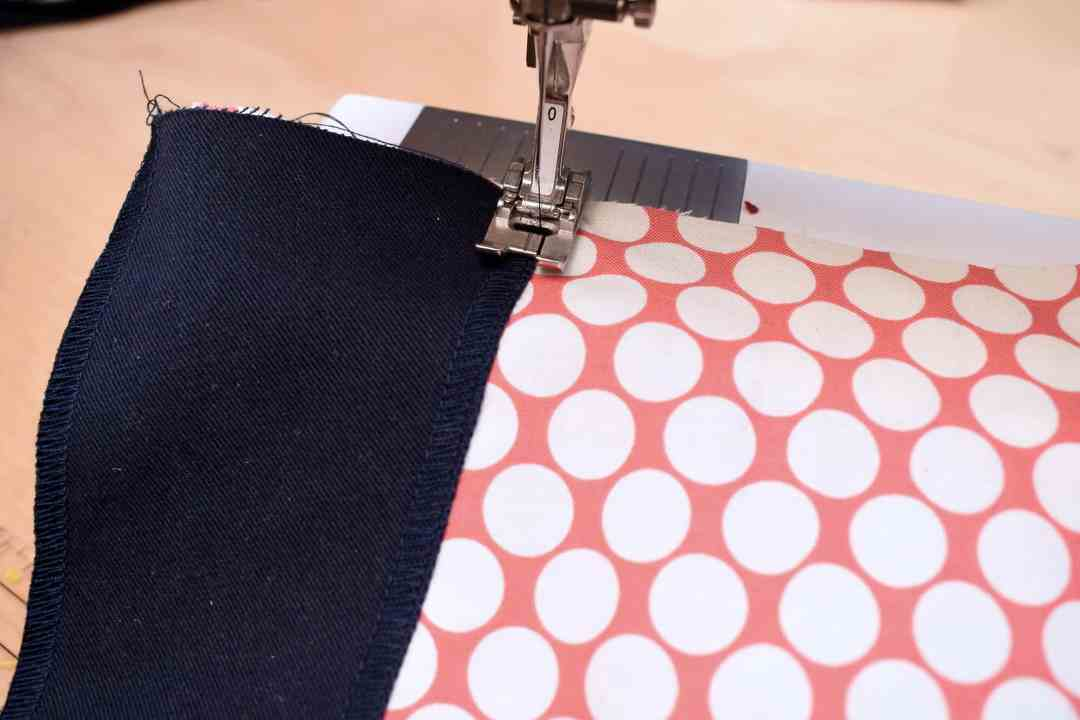 Sewing a faced trouser pocket
