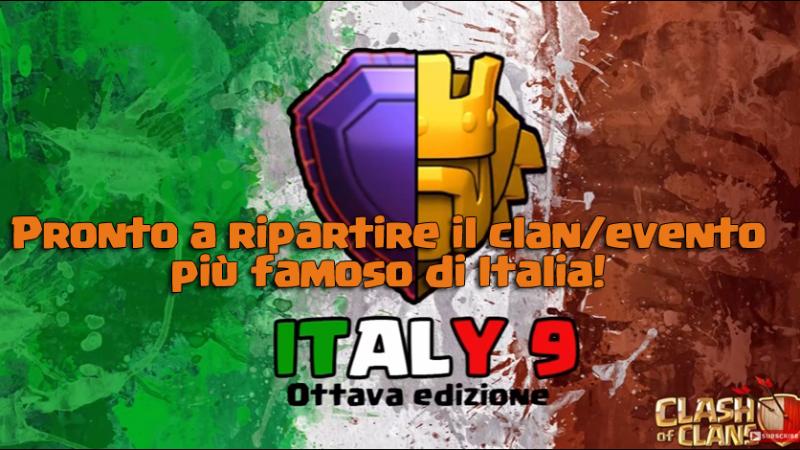 Gli Italy9 stanno per tornare: pronti per una nuova scalata