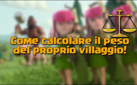 foto articolo 41 - Come calcolare il peso del proprio villaggio!   TheLastWar