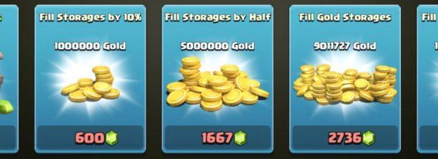 Calcolo dei prezzi delle gemme clash - guida su che cosa potenziare all'interno di Clash of Clans