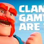 Prossimi Giochi del clan: livelli,durata e premi