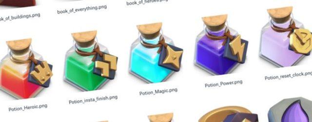 new potions bg 758x297 - Aggiornamento Estivo: 5 nuove pozioni su Clash of Clans!