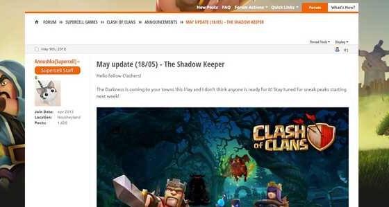 img 6583 - Leaks o Sneak Peek: arriva l'ombra mietitrice su Clash of Clans!