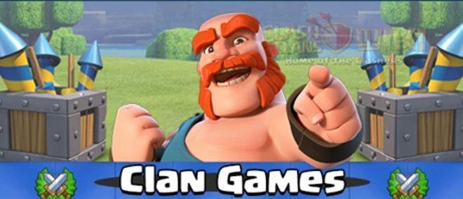Prossimi Giochi del Clan 16-22 Luglio: premi,info e durata!