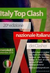 Locandina Top War ITC 225x300 - Italy Top Clash, un successo da 20 edizioni