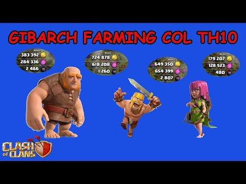 0 9 - Clash of Clans ITA -E77- Gibarch Farming col TH10