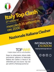 Locandina Top War ITC edizione 21 225x300 - Al via la 21a edizione di italy Top Clash