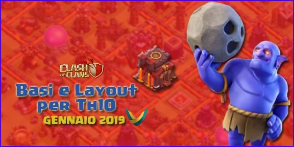 Layout Basi War per Th10 – Gennaio 2019   Clash of Clans