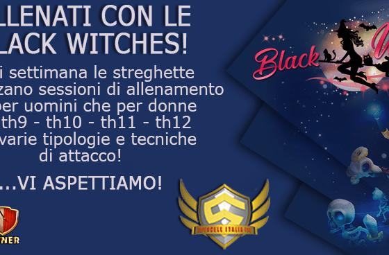 anteprima - Training con le Black Witches DragBat TH12
