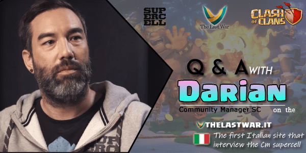 Clash of Clans 2019 Q&A with Darian on the TheLastWar