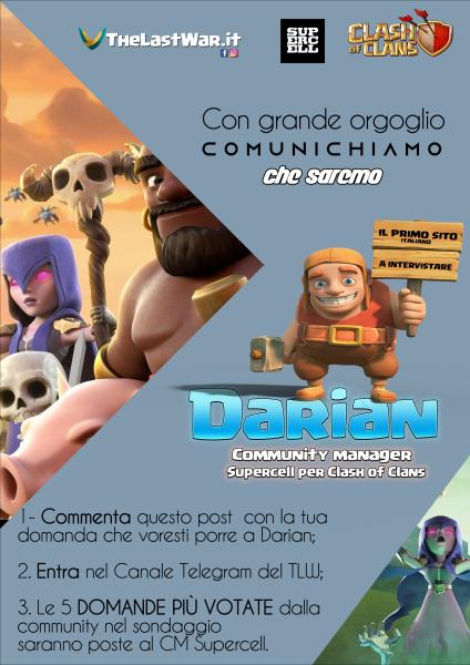 locandina Darian 424x600 - Il TheLastWar intervista Darian: fai anche tu la tua domanda al cm Supercell!