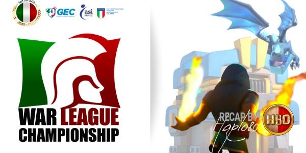 Coperina YouTube WLC Recap - Clash of Clans -ITC- WLC- Recap Semifinali