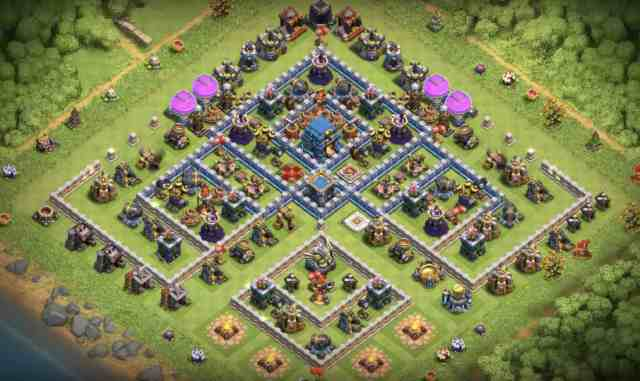 th12 trophy base december 2018 - Layout Basi War per Th12 – Marzo 2019 | Clash of Clans