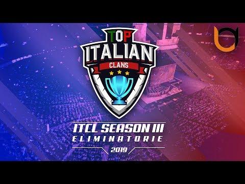 0 2 - 3° Torneo IT.C.L. [2019] | ELIMINATORIE [Girone B vs Girone D] | Clash of Clans [ITA]