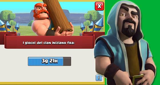 Giochi del Clan - Giochi del Clan 13-19 Aprile: premi,informazioni e dettagli!