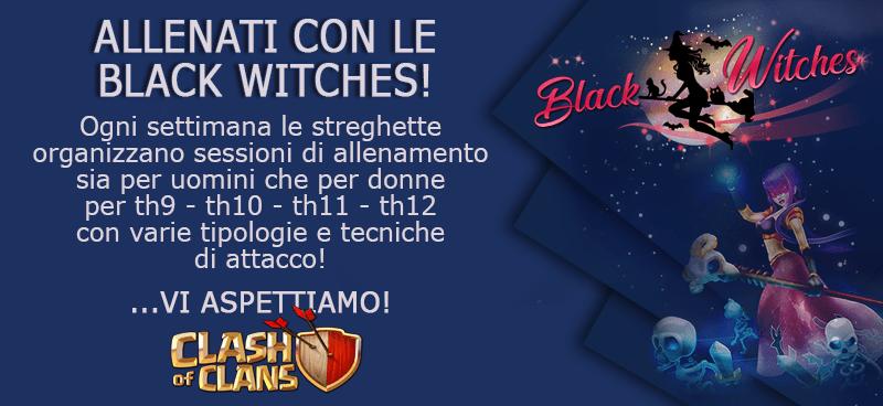 Training con le Black Witches, BoHogs per TH12