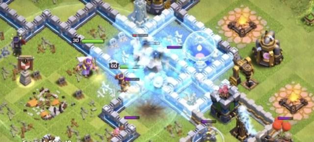 ice golem freeze - Quale combinazione di truppe scegliere per riempire i Castelli in War?