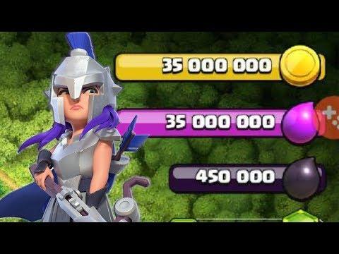 0 1 - Come usare 70milioni di risorse! (Clash Of Clans)