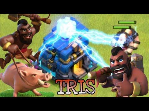 0 3 - DOMATORI A TH12? #1 Clash of clans