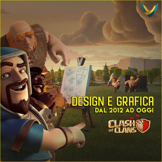 evidenza - Clash of Clans - Design e Grafica dal 2012 ad oggi