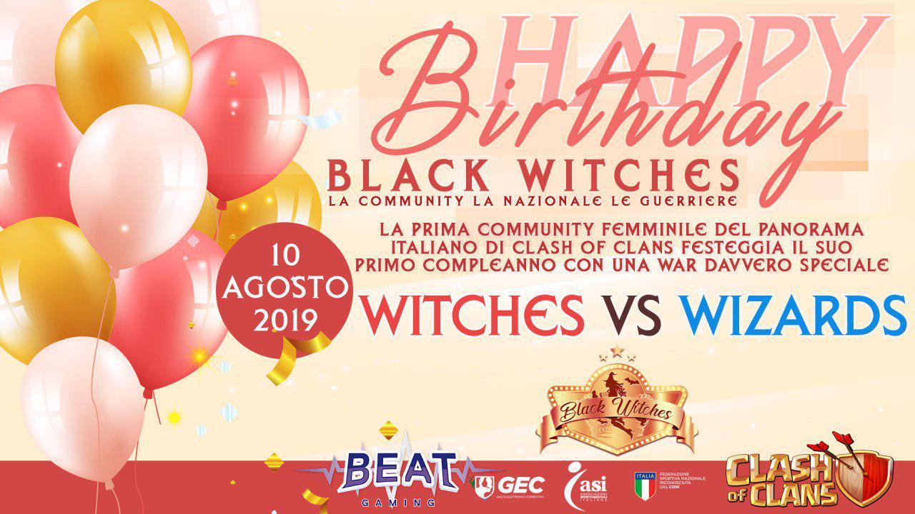 1 anno di Black Witches su Clash of Clans: la storia