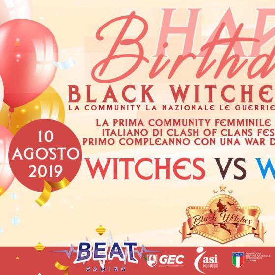 photo 2019 07 25 12 17 45 - 1 anno di Black Witches su Clash of Clans: la storia