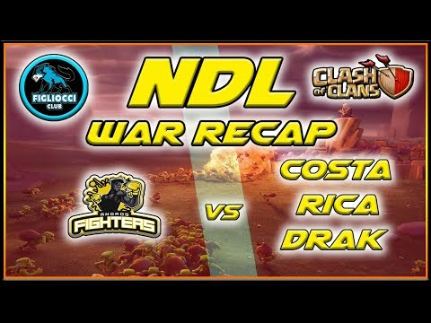 NDL – War Recap – Andros Fighters vs Costa Rica Drak