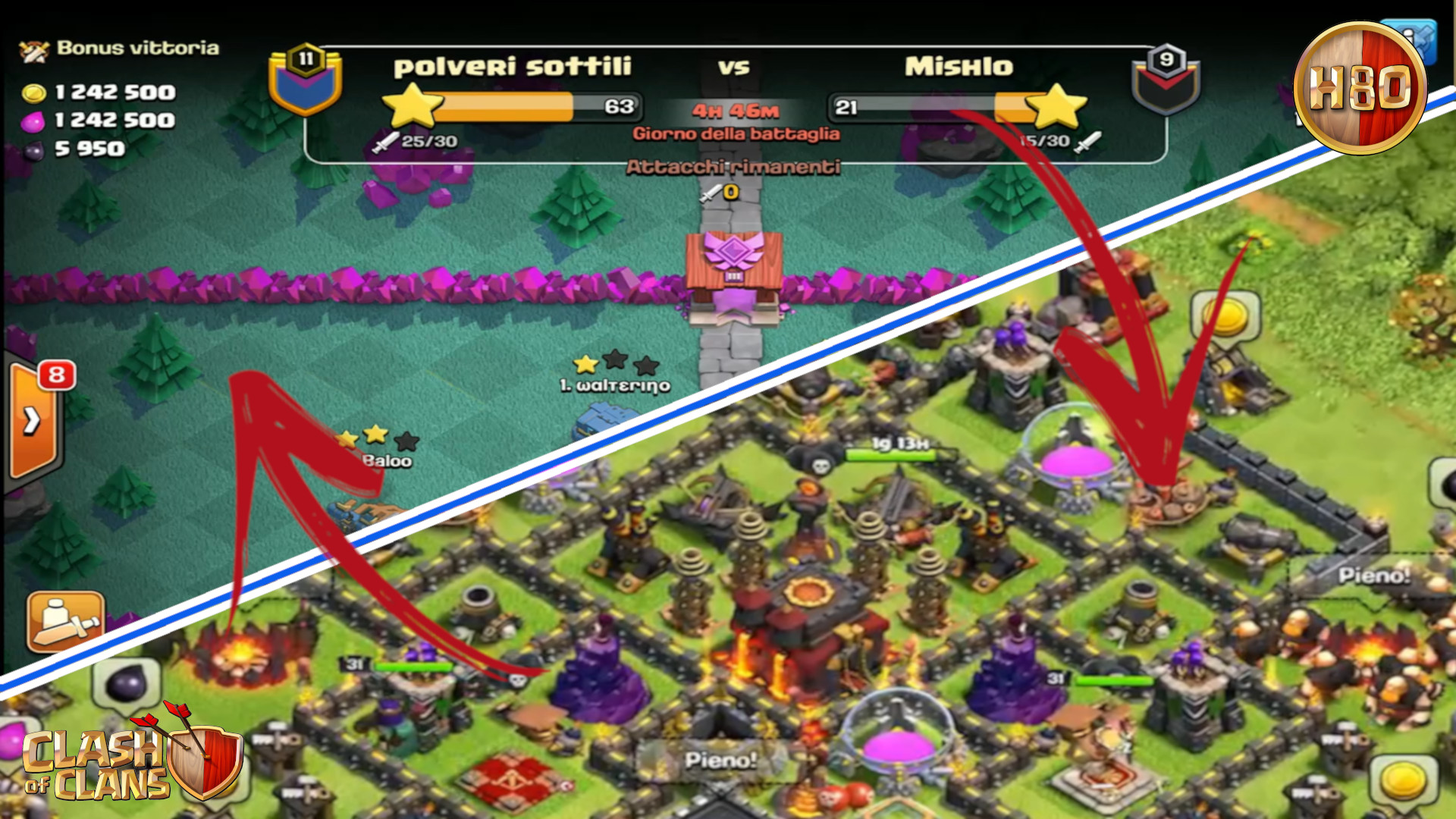 Clash of Clans ITA -E117- In CWL da 30 col th10