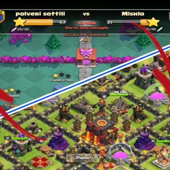 MINIATURA 117 - Clash of Clans ITA -E117- In CWL da 30 col th10