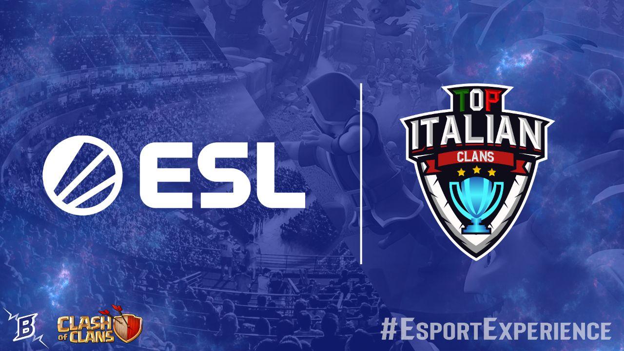 Top Italian Clans e ESL Italia insieme per offrire il meglio!