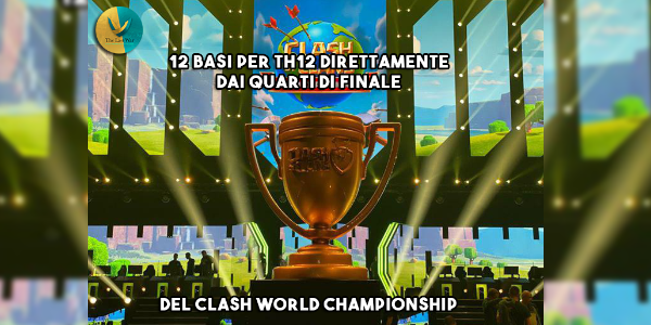 12 Layout Th12 direttamente dal Clash World Championship ad Amburgo