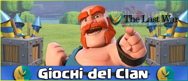 Giochi del Clan 22-28 Dicembre: premi,informazioni e dettagli!