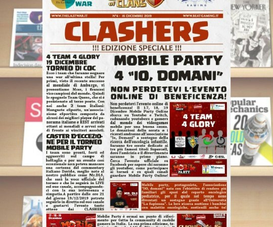 CLASHER – Volume 4 | Mobile Party Special Edition