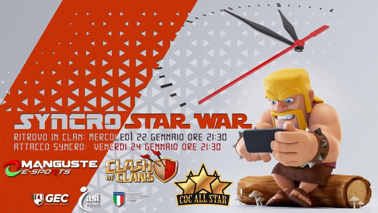 Syncro Star War, il nuovo evento tutto da giocare