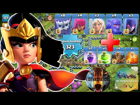 I DEVASTATORI BEST TH13 Attack Strategy in 2020 for 3 Stars Zar Madleskij&arancin[a] Clash of Clans